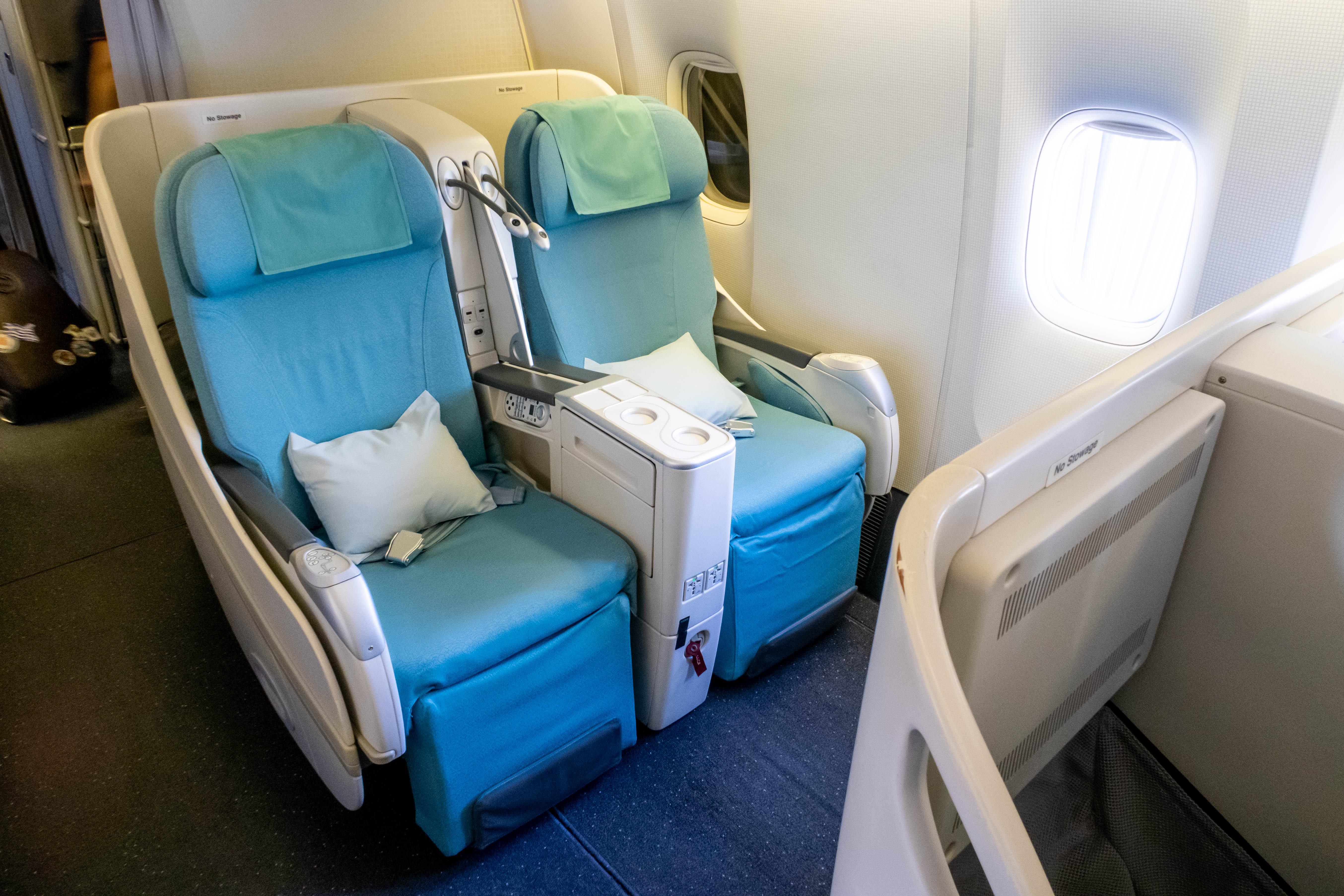 Korean Air Boeing 777-300 Business Class Seat