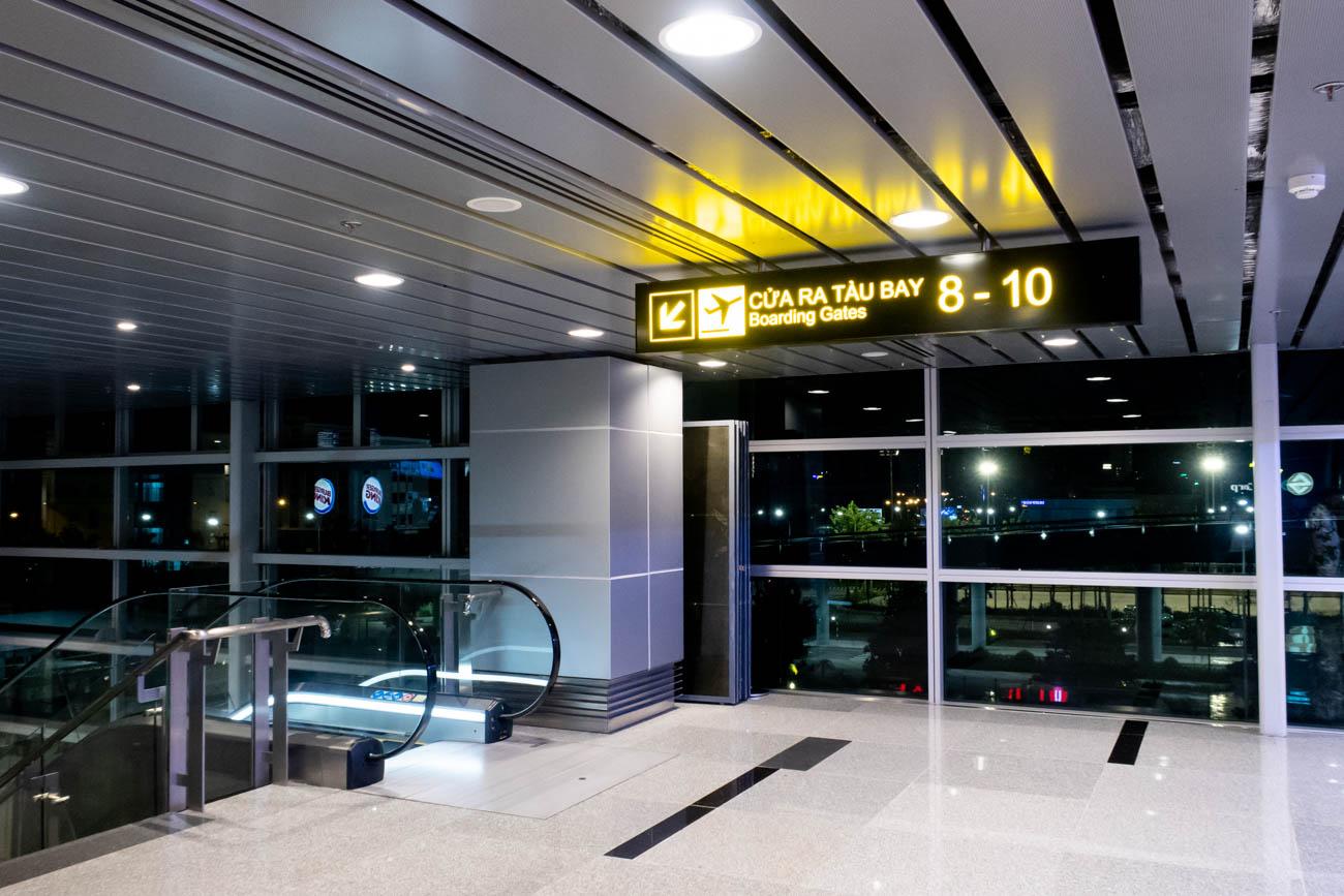 Da Nang Airport Gates 8 - 10