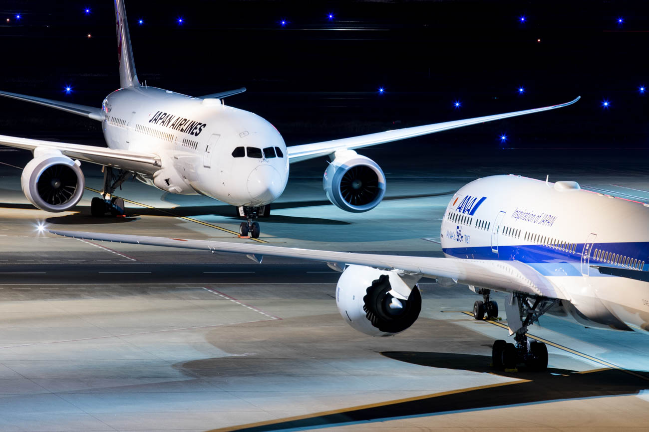 ANA and JAL to Moscow