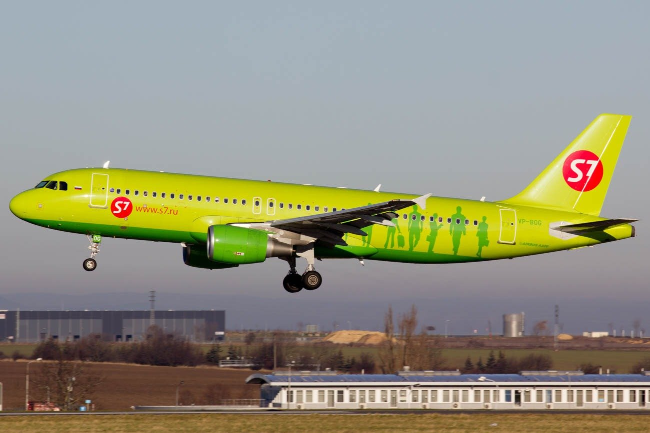 S7 Airlines Operates the Most Routes to Japan