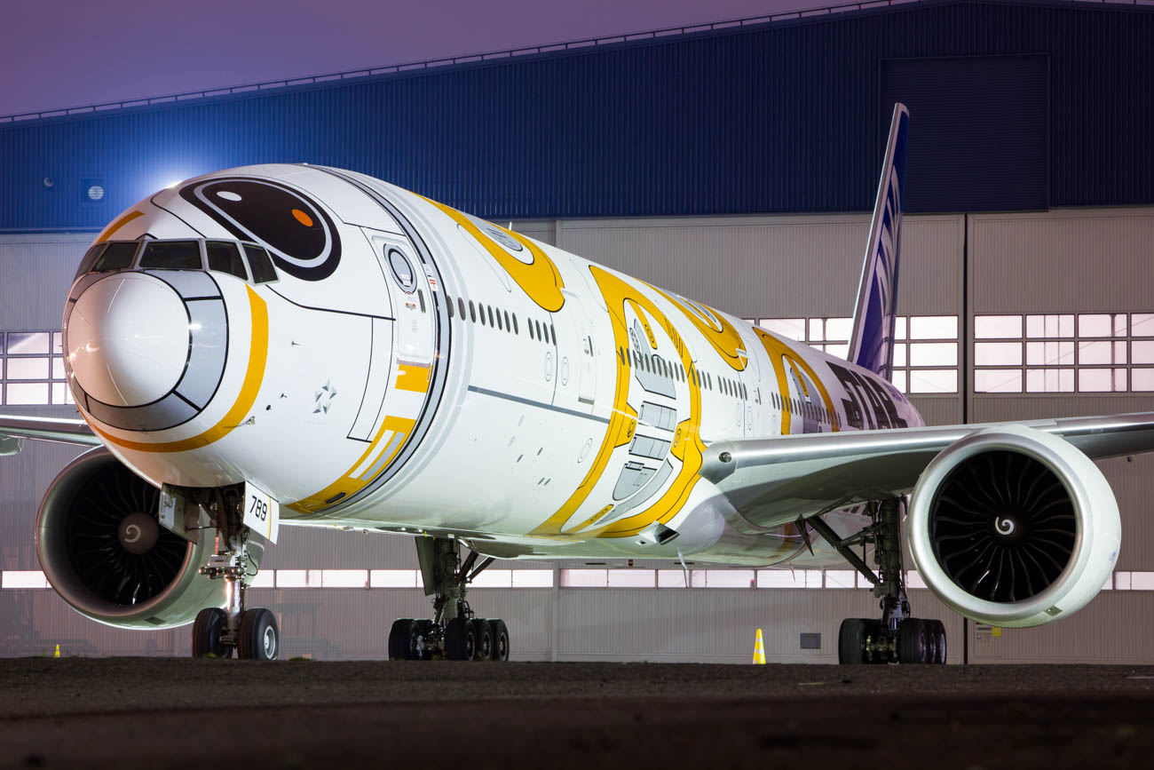 BB-8 ANA Jet