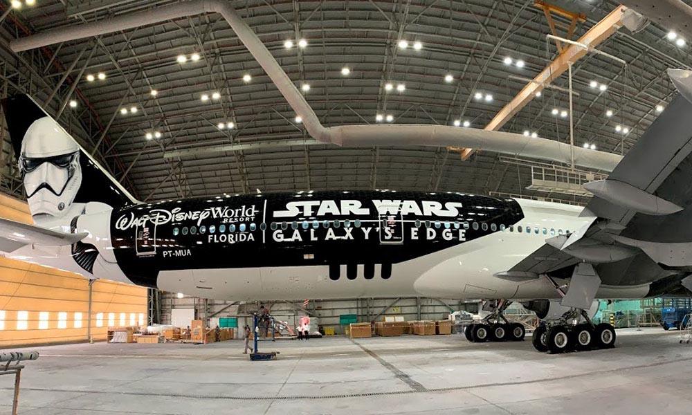 LATAM Stormtrooper Plane