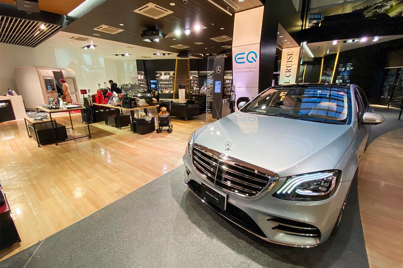 Mercedes me Tokyo Gallery