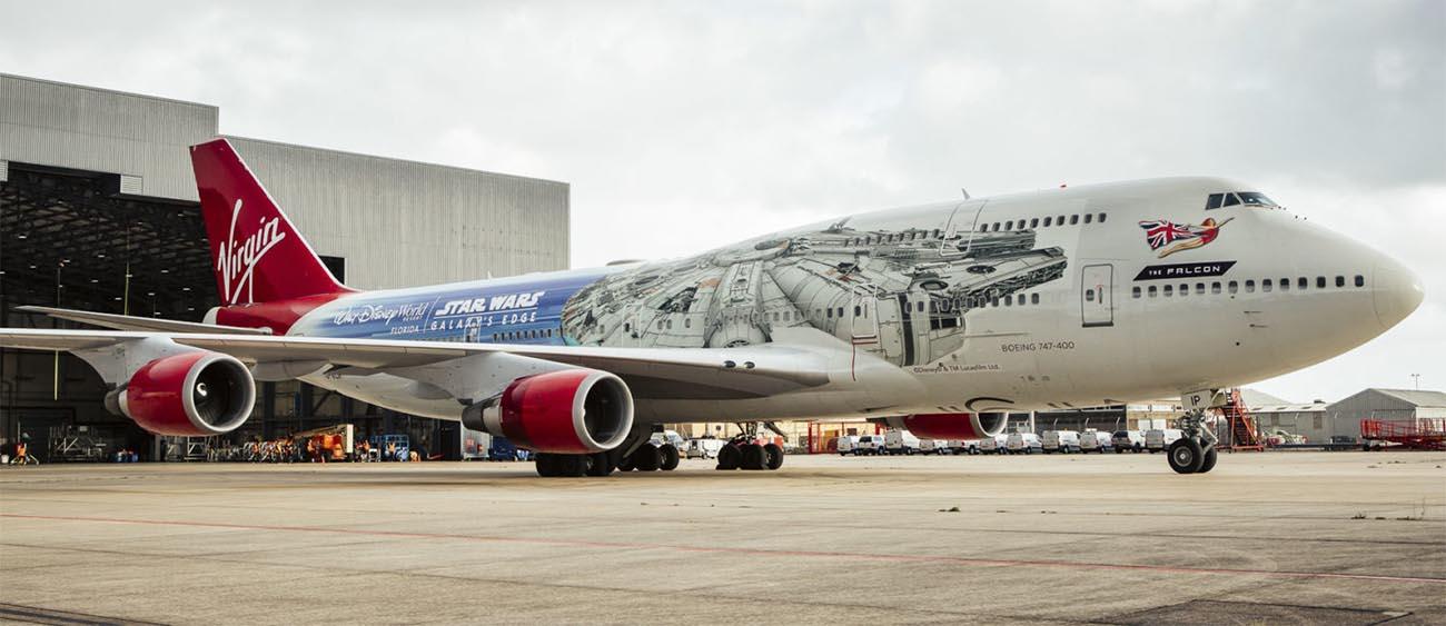 Virgin Atlantic The Falcon