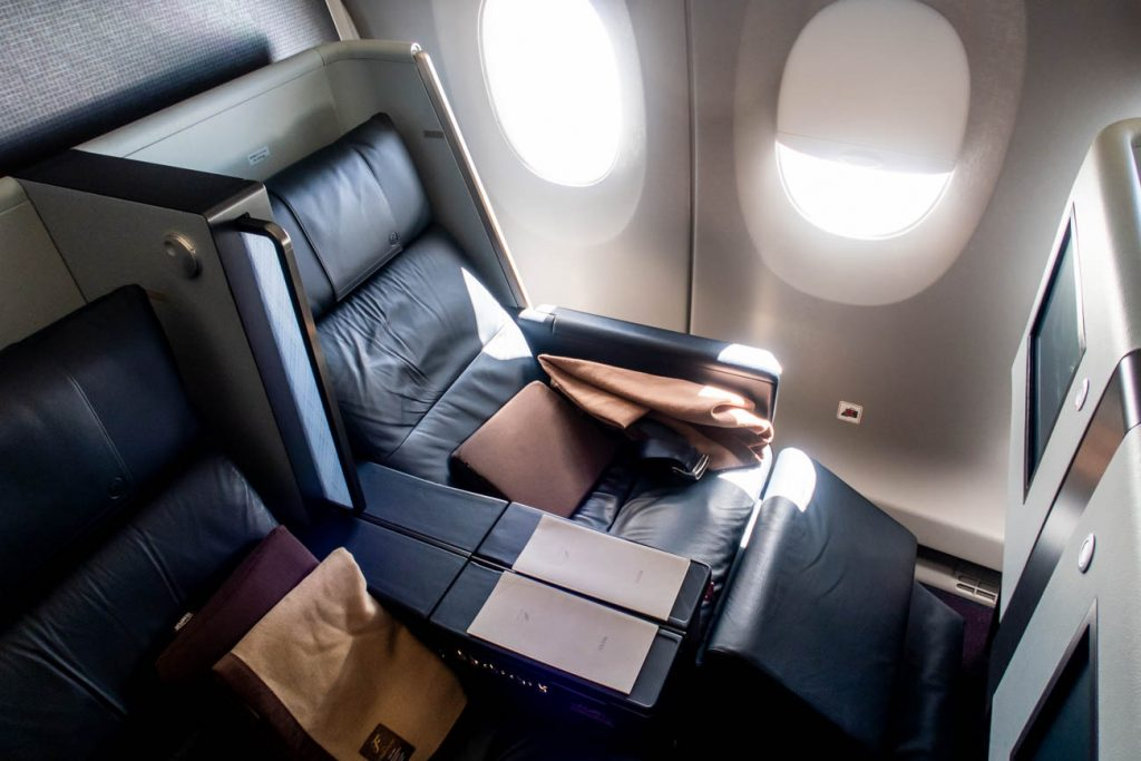 JAL A350 First Class Seat