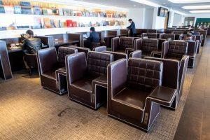 JAL Diamond Premier Lounge Haneda Seating