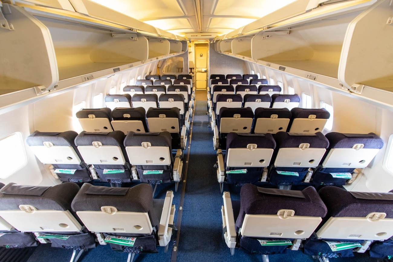 ANA 737-500 Cabin