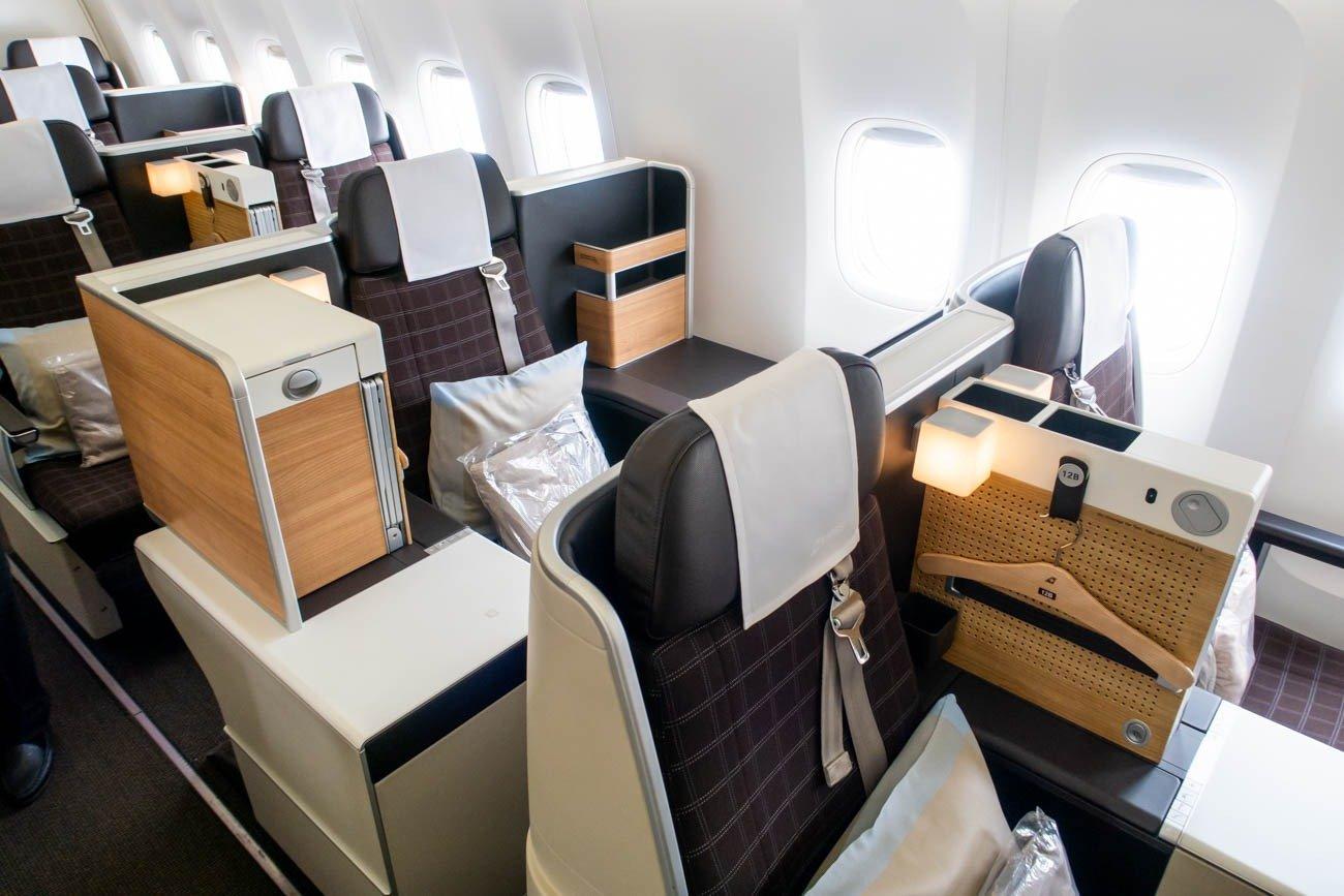 Swiss 777-300ER Business Class Seats