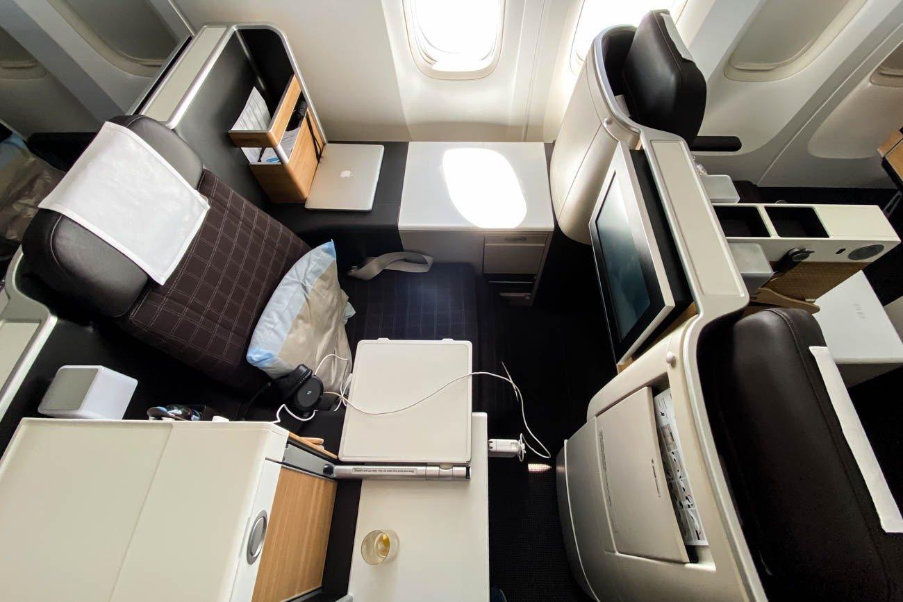 Swiss 777-300ER Business Class Throne Seat