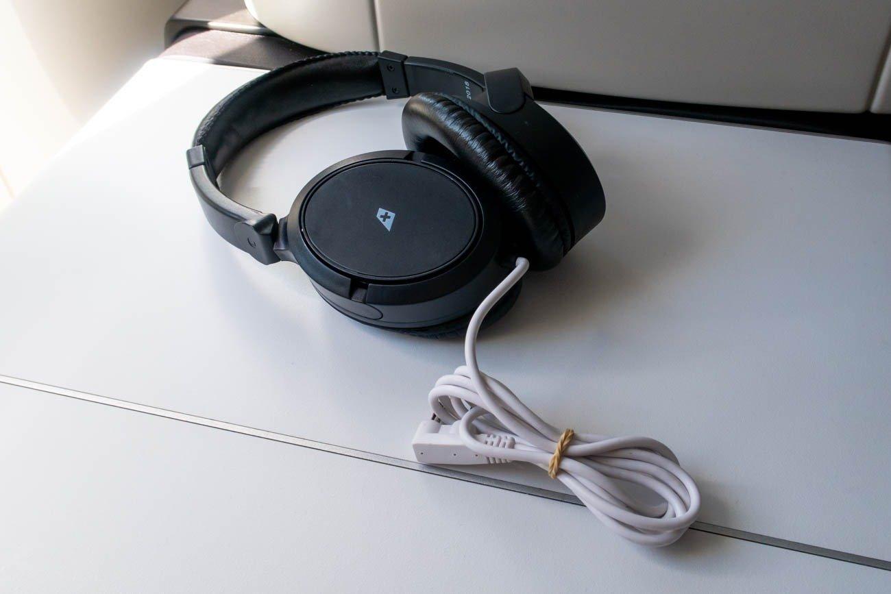 Swiss Business Class Headphones