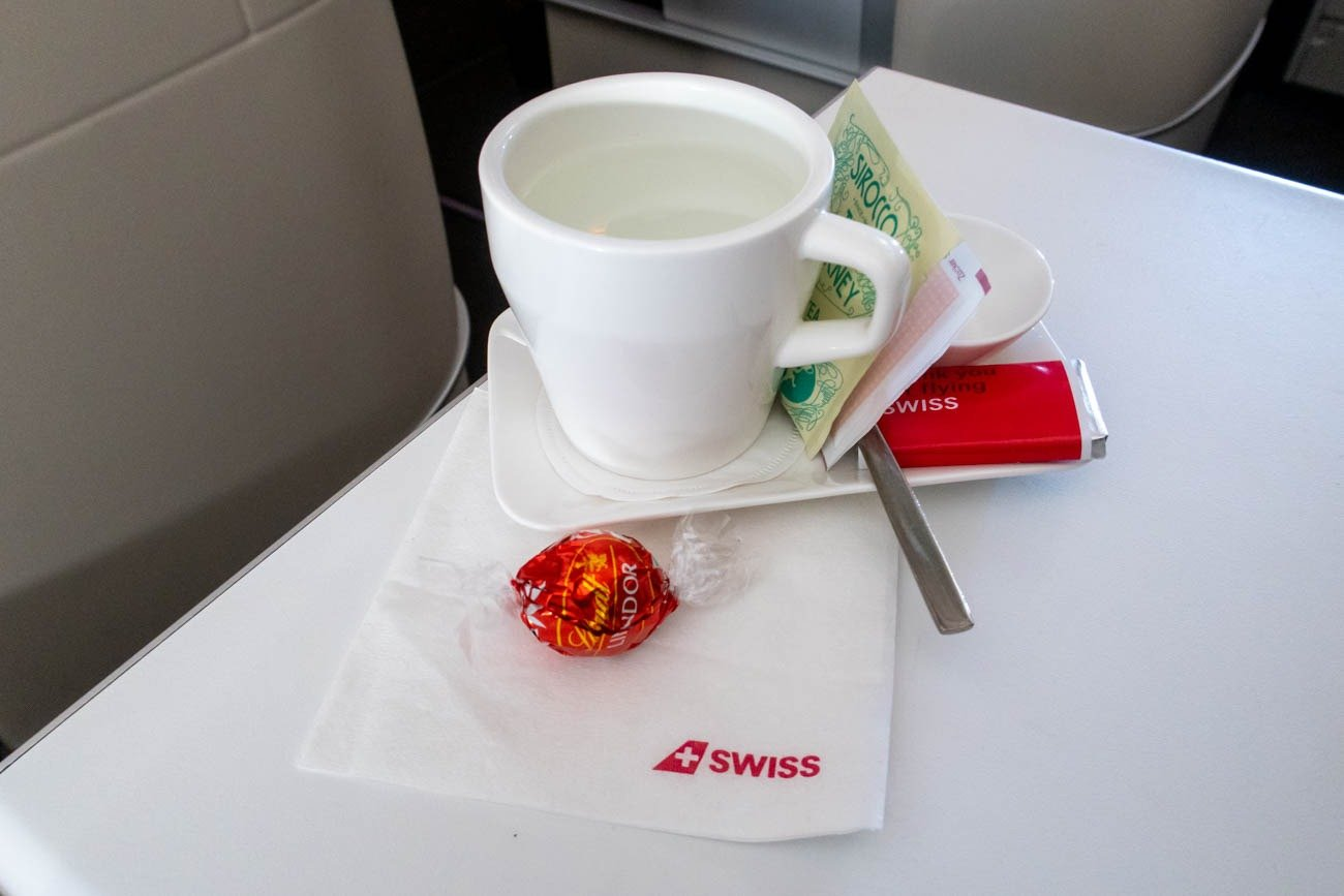 Swiss Business Class Snack