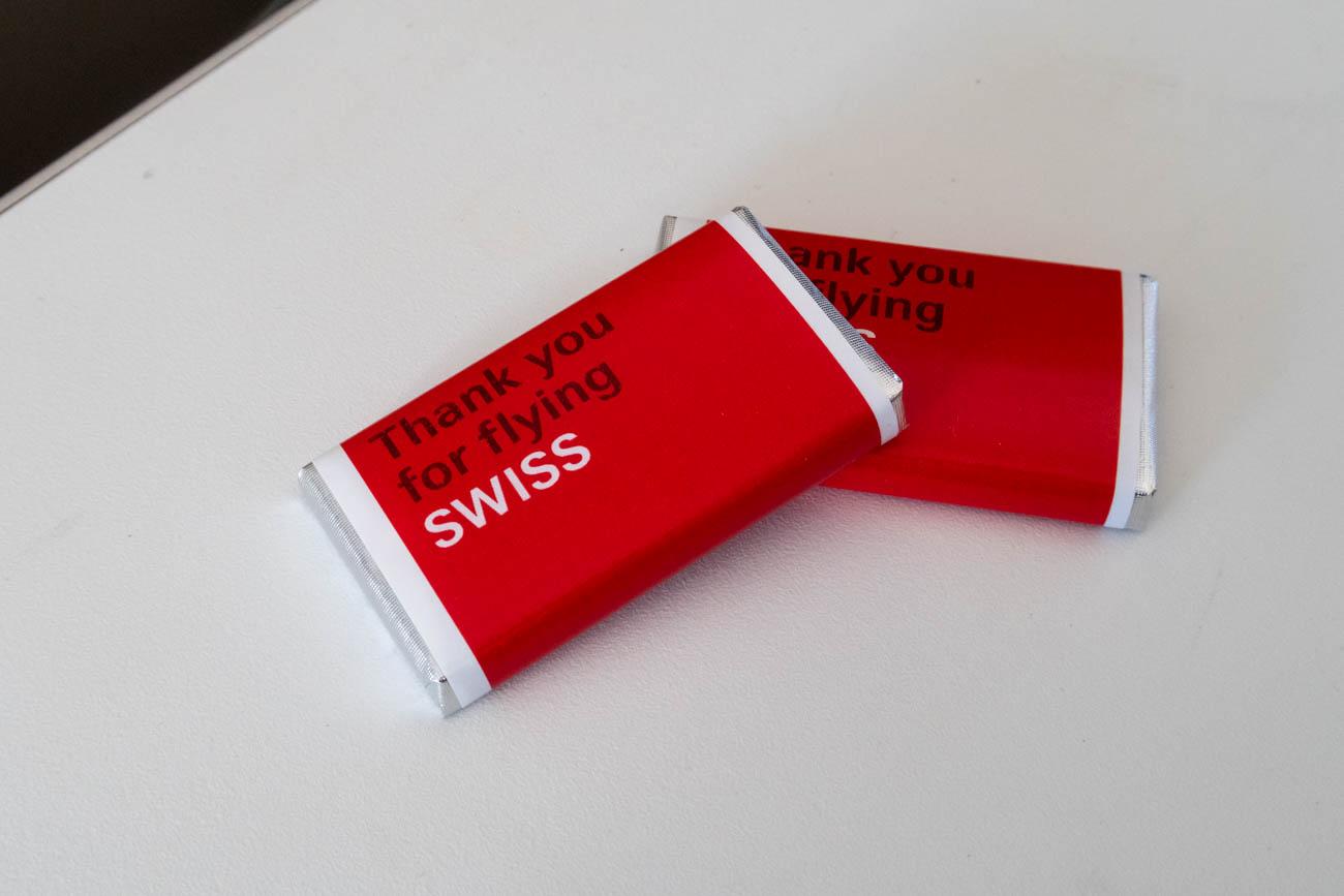 Swiss Air Lines Chocolates