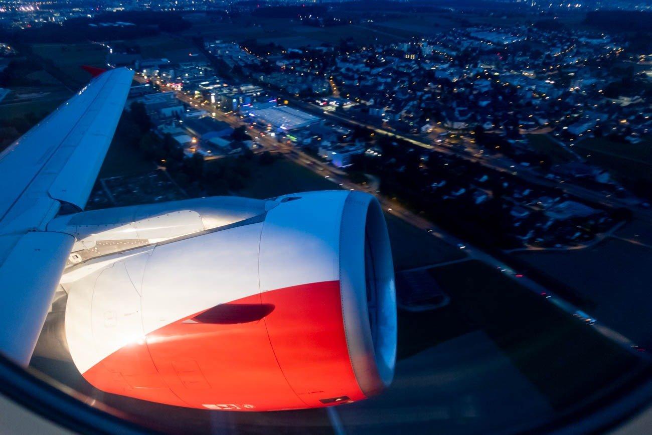 Take-Off from Zurich