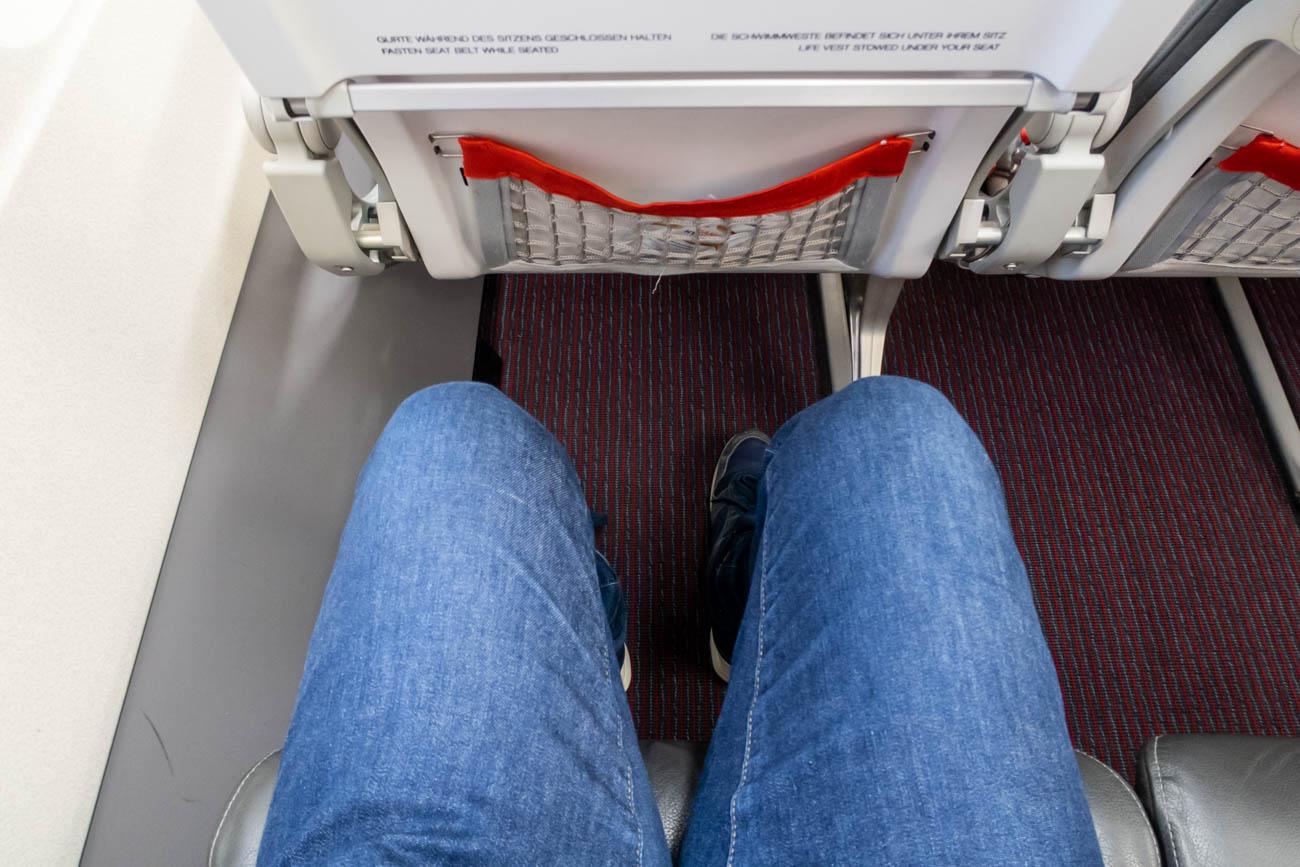 Austrian Airlines A319 Legroom