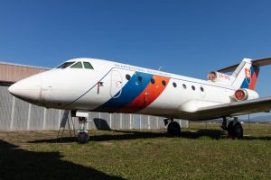 Yak-40 in Kosice Aviation Museum