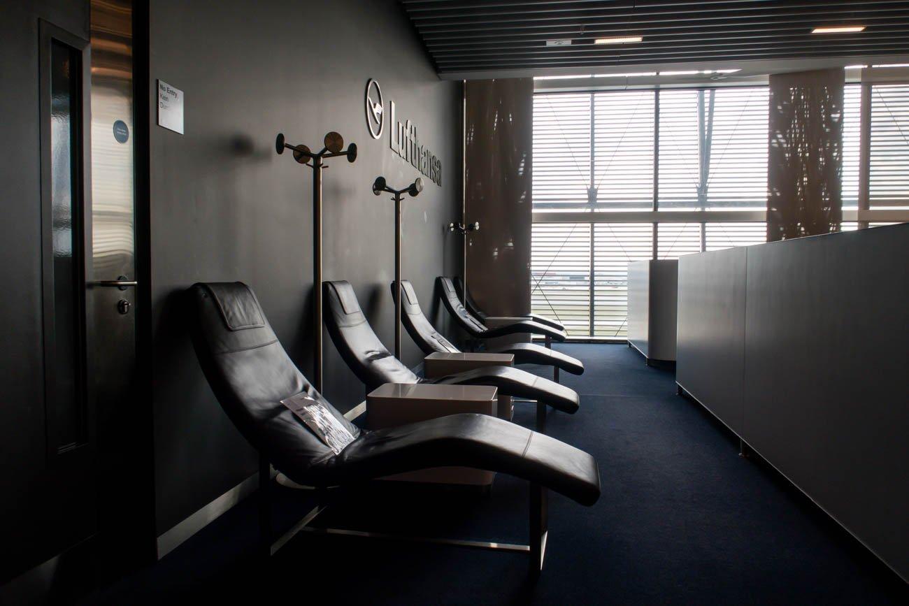 Lufthansa Lounge Heathrow