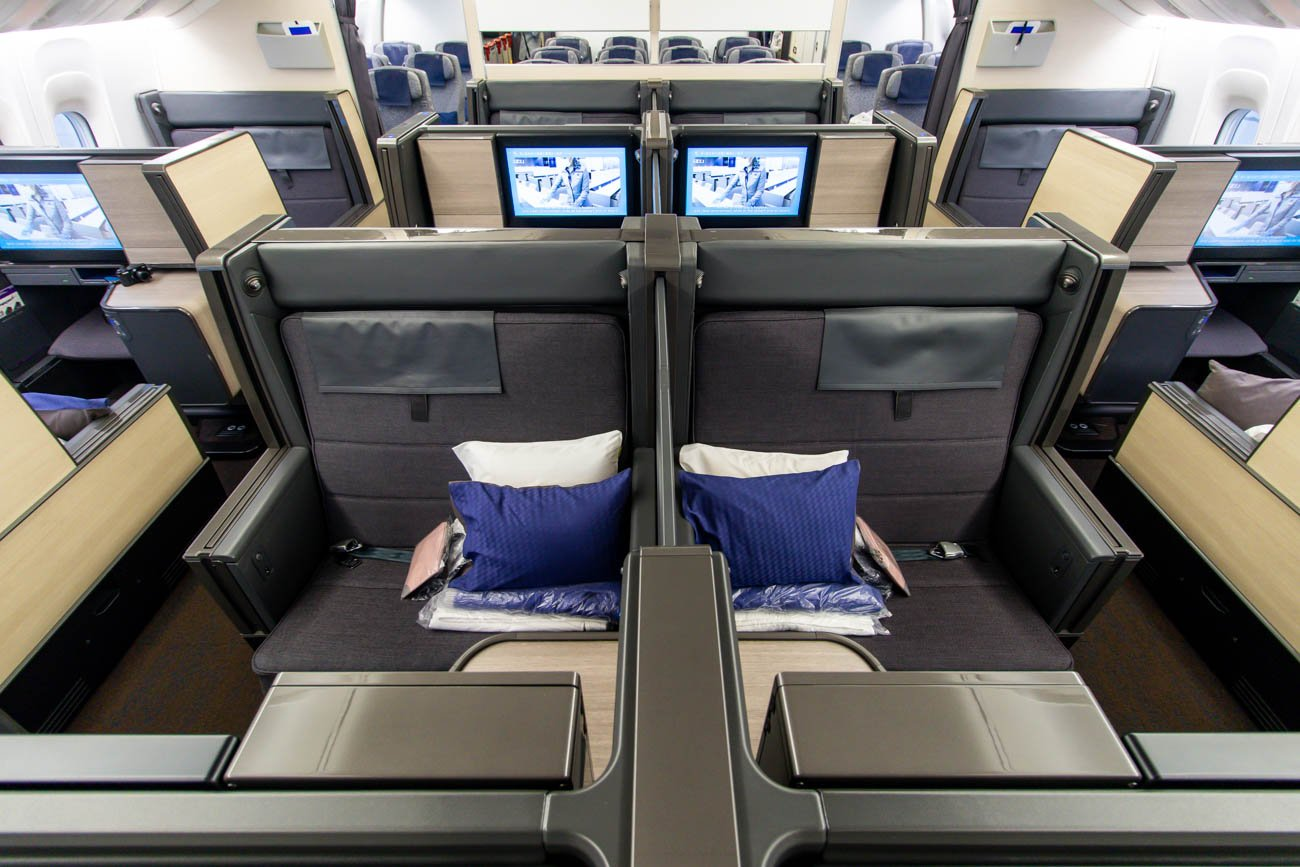 ANA The Room Business Class Cabin