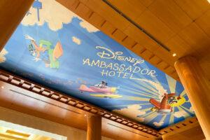 Disney Ambassador Hotel Lobby Ceiling