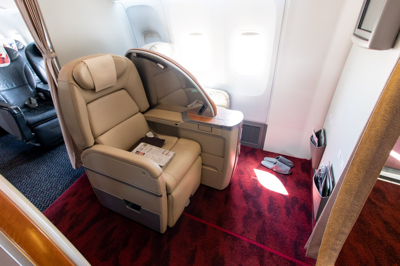 JAL Mickey Jet First Class
