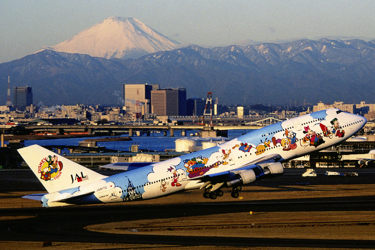 JAL Dream Express 747